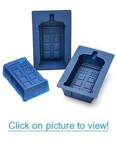 Doctor Who TARDIS Gelatin Mold Set Home #Office #Kitchen