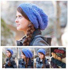 Montera Slouchy Hat Free Knitting Pattern and more free slouchy hat knitting patterns