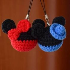 Amigurumi - Keychain - Mickey - Free Pattern