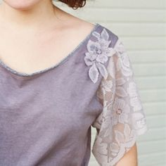 Check out how I refashioned my plain white tee as part of Project Reimagined!