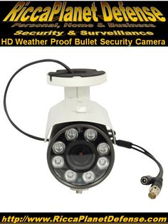 HD Weather Proof Bullet Security Camera! The IntelliSpy BC-HD135-DN is a full HD weather proof bullet camera with 135 feet of night vision and 3G-SDI technology. The 3G SDI technology gives you crystal clear picture. This HD 3GSDI camera will make out license plate numbers and allow you to actually see the face of an intruder all while using coax/RG59 cable.  Spools of cable can be found in the camera accessories section.  #Security #Camera #Protection #Video #Safety #Surveillance
