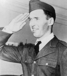 Private James Stewart, March 1941.