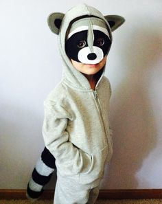 Raccoon Costume by AliciaMarieCreate on Etsy https://www.etsy.com/listing/205796868/raccoon-costume