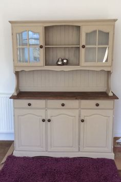 Welsh dresser hand painted in AS Paris Grey and waxed