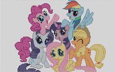 Contato Cross Stitch Pattern MLP My Little Pony