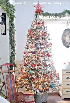 Beautiful!!! Vintage Style Christmas Tree