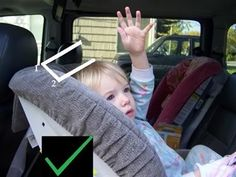 How to tell when your child has outgrown their seat rear facing by height.