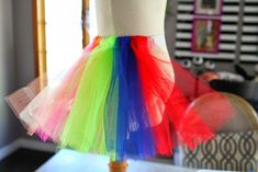 """How to make """"Scrappy TuTu Clown"""" costume Tutu Costumes, Halloween Costumes, Costume Clown, Costume Ideas, Clown Hat, Halloween Cupcakes Easy, No Sew Tutu, Fabric Tutu, Tutu Tutorial"""
