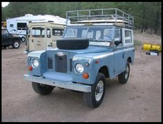 1970 Land Rover Series IIA 88...I so want one of these babies!