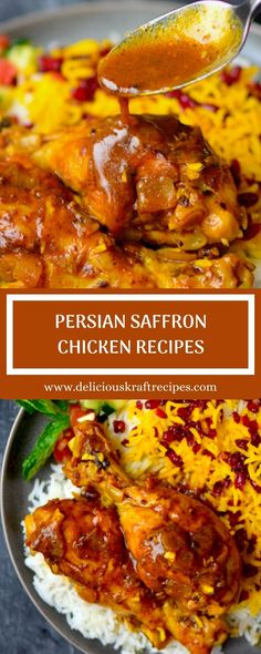 One of the most well known, and well loved, traditional Spanish recipes is Spanish omelet. Persian Saffron Chicken Recipe, Persian Chicken, Afghan Food Recipes, Saffron Recipes, Rice Ingredients, Best Meat, Kraft Recipes, International Recipes, Main Meals