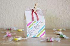 Nellis Stempeleien: Leckereien-Box Stampin UP, Hausgemachte Leckerbissen;  Bakers Box, Homemade for You