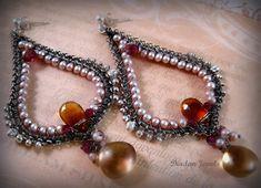 Salome Earrings by sparkfairy on deviantART