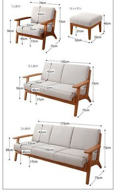 Scandinavian Design Fashionable Wood Elbow Sofa 【Lulea】 Make a . Try a Recliner Sofa, and You'll Never Go Back. A reclining sofa allows you to relax completely in the most comfortable position, as your legs recline and chair fully supports your back Sofa Furniture, Pallet Furniture, Furniture Plans, Furniture Design, Modern Wood Furniture, Live Edge Furniture, System Furniture, Furniture Stores, Wooden Sofa Set Designs