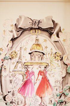 Dior, Printemps Paris