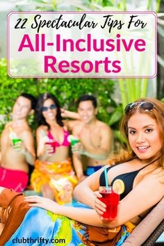 Wondering what to expect at an all-inclusive resort? We've got your back. These 22 all-inclusive resort tips will help you enjoy your stay! Source by livingmarvelously outfits Cheap All Inclusive, Best All Inclusive Resorts, All Inclusive Vacations, Caribbean Vacations, Great Vacations, Romantic Vacations, Family Vacations, Family Travel, Punta Cana All Inclusive