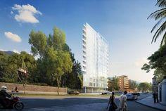 Galería - Richard Meier diseña edificio residencial en Bogotá, Colombia - 7