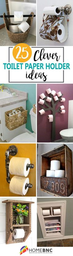 Toilet Paper Holder Designs