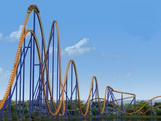 The 10 Craziest Roller Coaster Rides for Thrill Seekers via Brit + Co.