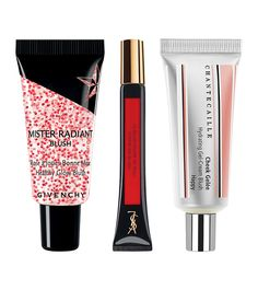 Givenchy, Yves Saint Laurent and Chantecaille smelting blushes