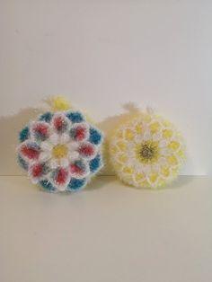 2 tawashis éponges vaisselle - Un grand marché Creative Bubble, Crochet Earrings, Bubbles, Kawaii, Dishes, Original Gifts, Gift Ideas, Plate, Kawaii Cute