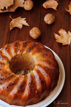 Cocina compartida: Bizcocho de harina integral con manzanas, pasas, n...