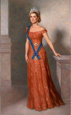 Twee unieke, levensgrote portretten van koning Willem-Alexander en koningin Máxima, gemaakt door de Amsterdamse kunstschilder Urban Larsson zijn dinsdag onthuld in Sociëteit De Witte in Den Haag.
