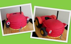 Tractor Birthday Cake Tesco