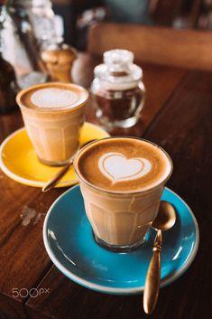Just the two of us by Ev Tchebotarev / 500px Coffee Latte Art, Coffee Menu, Coffee Type, Coffee And Books, Coffee Break, Coffee Drinks, Morning Coffee, Ghee Coffee, Eggnog Coffee