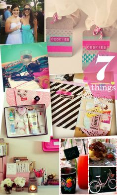 Seven Things post via Instagram. #stationery #snailmail