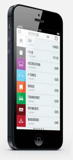 iPhone 5 iOS App Design