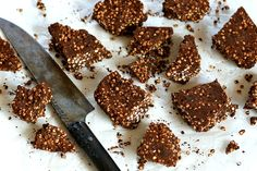 Chocolate & millet crunchy snacks