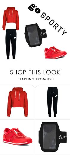 """Sporty"" by gabydesigner on Polyvore featuring NIKE and MICHAEL Michael Kors"