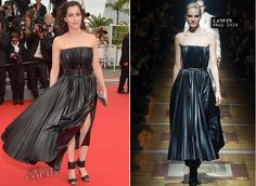 """WHO: Amira Casar WHERE & WHEN: """"The Search"""" Premiere during the 67th Annual Cannes Film Festival on May 21, 2014. WEARING: Lanvin - See more at: http://thefashion-court.com/tag/67th-annual-cannes-film-festival/#sthash.oJJ6csmN.dpuf"""