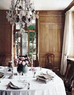 Dining room. Edouard Vermeulen