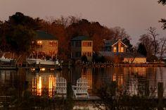 Tilghman Island November Sunset - Tilghman Island, Md