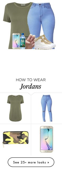 """""""Untitled #373"""" by talia-sills on Polyvore featuring Oasis, MICHAEL Michael Kors, Retrò and Samsung"""