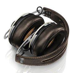 Sennheiser Momentum Wireless Headphones in Ivory - complete w/ integrated microphone. #HappyEars