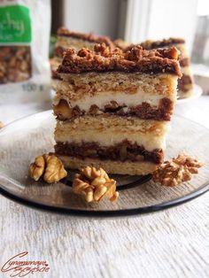 Chocolate and ricotta cake - HQ Recipes Polish Cake Recipe, Polish Recipes, Sweet Recipes, Cake Recipes, Dessert Recipes, Chocolate Ganache Tart, Yogurt Cake, Different Cakes, Recipes From Heaven