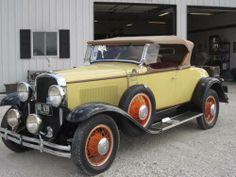 1930 Buick Marquette Model 34 Roadster = Restored = $38.8k For Sale