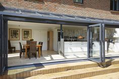Kitchen Extension by Apropos House Design, New Homes, House Extension Design, House Plans, Red Brick House, House, Glass Extension, Home, House Exterior