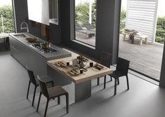Cucine di Design Light | Modulnova Cucine | Composizione 2