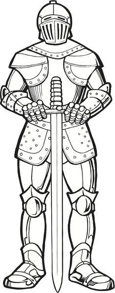 29fd9e2e3de211738faa950aaa3a162f knights coloring pages
