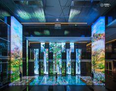 讓美好的事物「生聲不息」,全台灣第一座有生命力的聲光藝術 | FLiPER Interactive Exhibition, Interactive Media, Exhibition Booth, Exhibition Space, Entrance Design, Hall Design, Stage Design, Neo Futurism, Showroom Interior Design