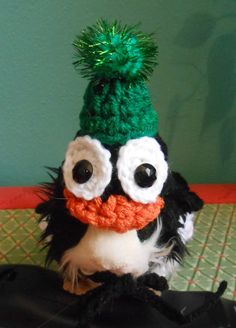 Guinea Pig Penguin Sweater and Penguin Hat  Guinea by Fancihorse