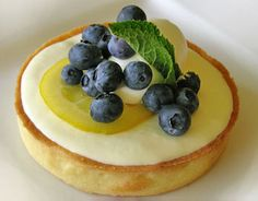 this lemon tart looks even better @Kara Mason