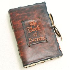 Really feeling this journal.The Book of Secrets