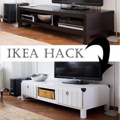 Ikea Hack TV Stand Makeover