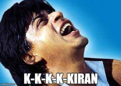 Top 5 evergreen Bollywood villian dialogue... K K K K Kiran- Shahrukh Khan SRK