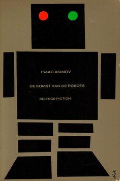 De Komst van de Robots, Cover by Dick Bruna 1969