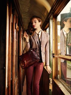 4ac009fc53355e Ted Baker AW13 Lookbook - Take the Scenic Route Carrie Bradshaw